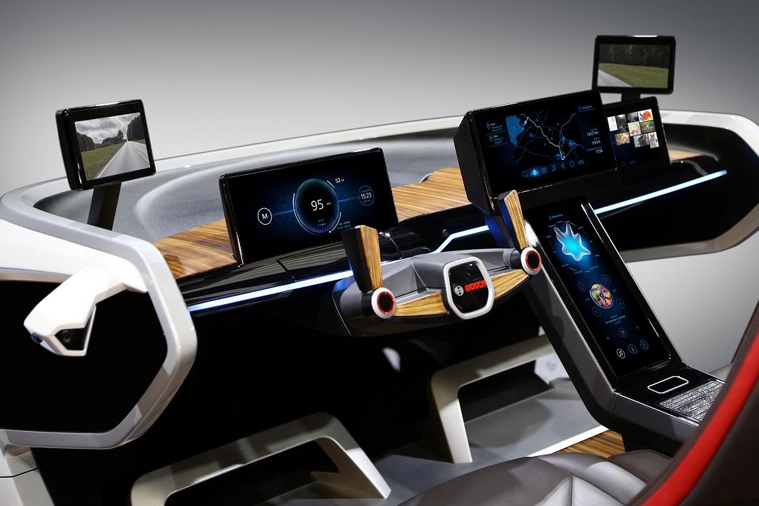 Концепт «умного» автомобиля от Bosch