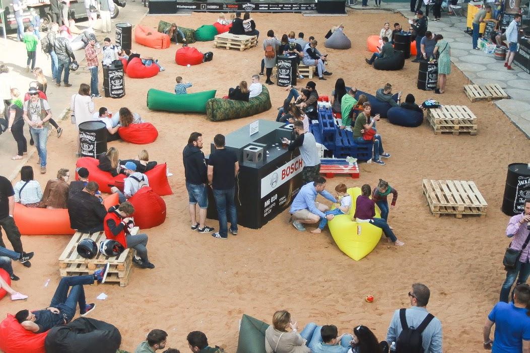 Компания Bosch поддержала III фестиваль кастом-культуры Recast Moto Fest