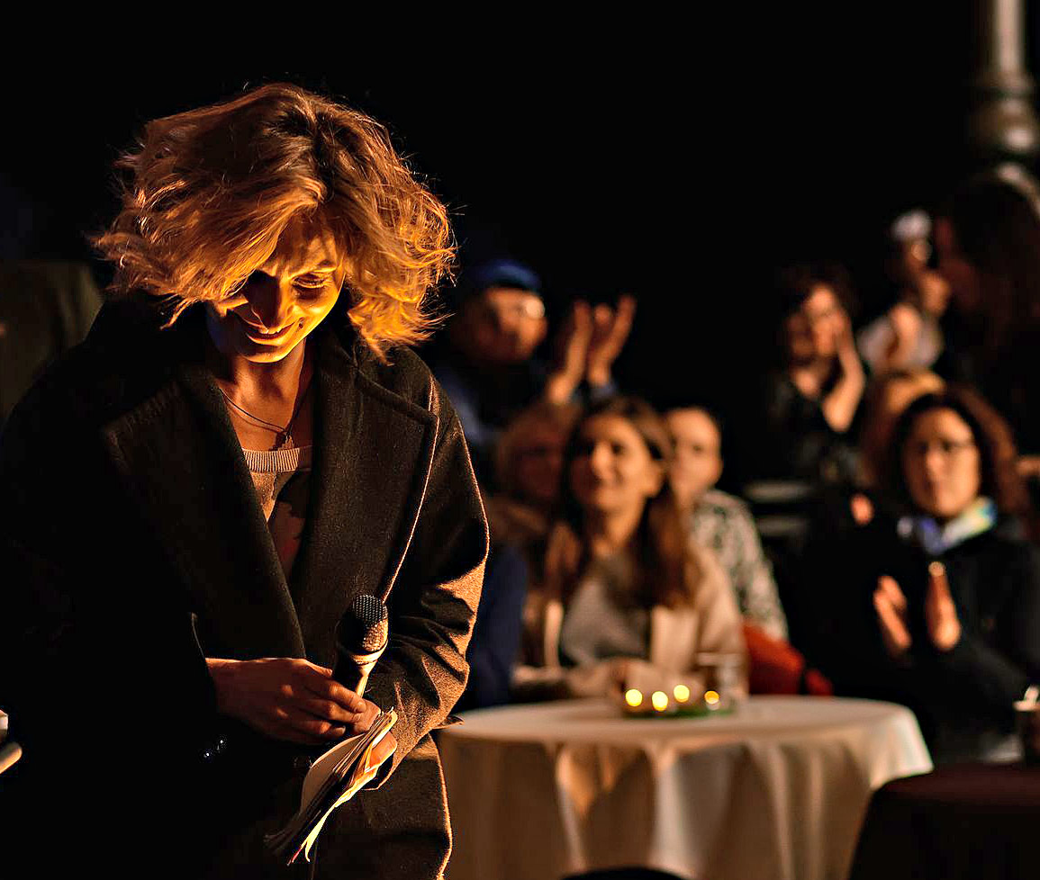 Bosch отметила 135-летие Янки Купалы поэтическим вечером в Купаловском театре